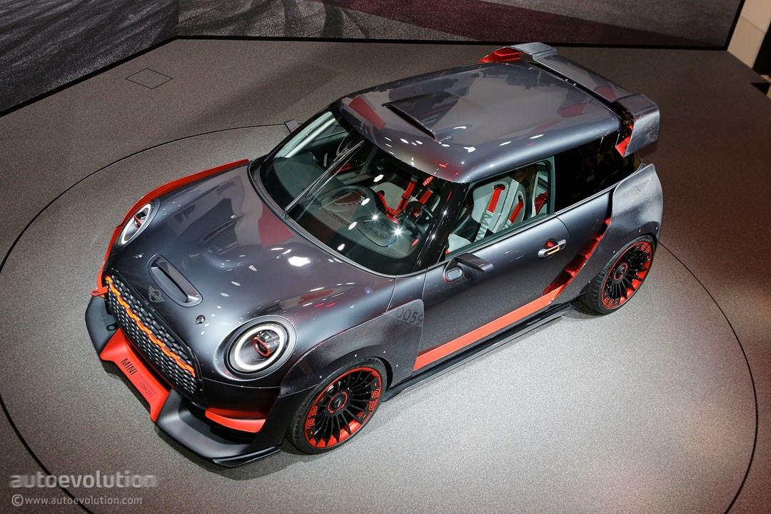 Mini Cooper Models >> John Cooper Works GP Concept Is MINI's Evil Twin in ...