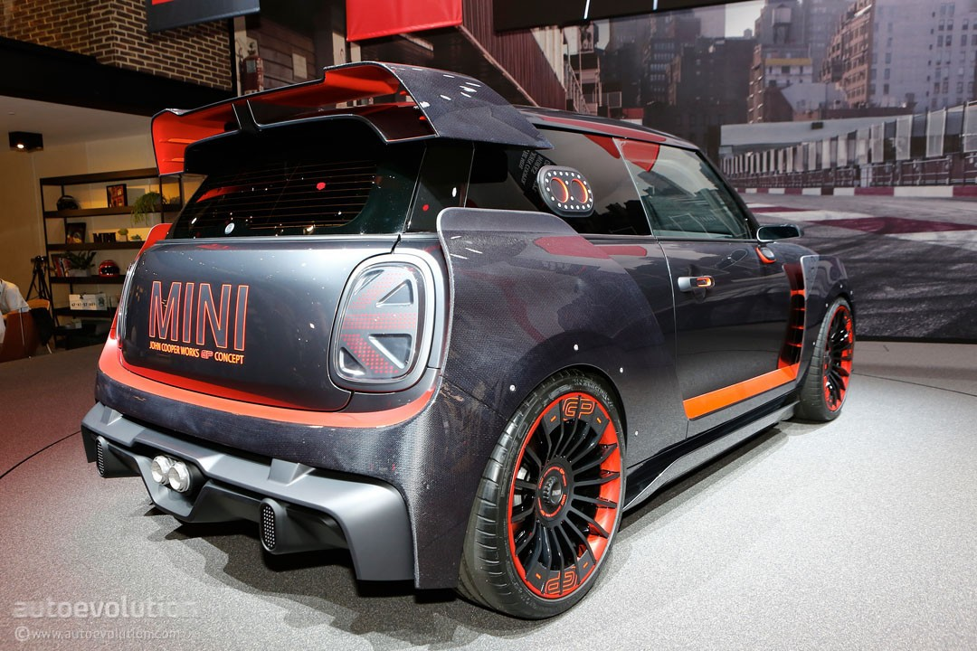 Mini John Cooper Works >> John Cooper Works GP Concept Is MINI's Evil Twin in Frankfurt - autoevolution