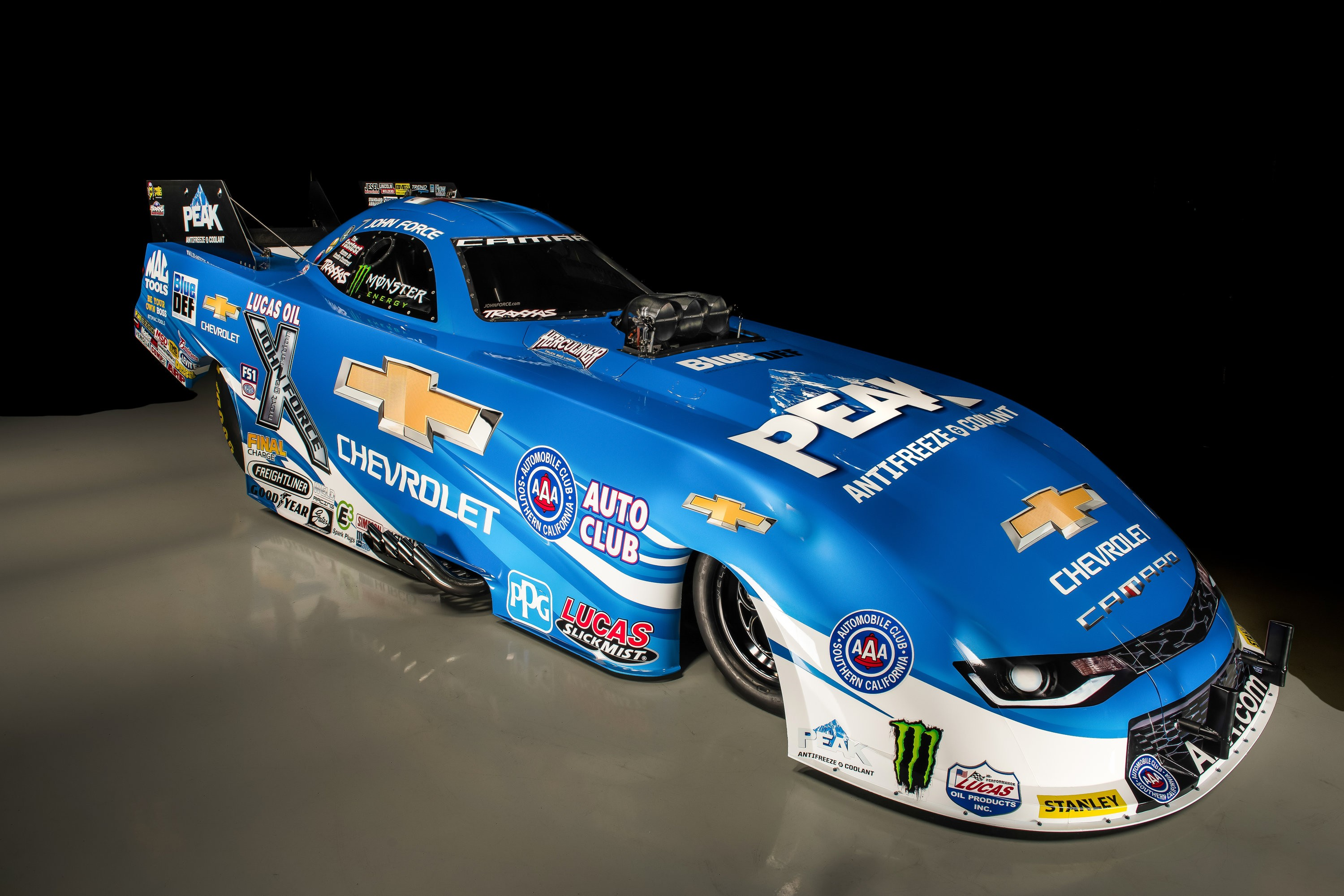 John Force Racing 2016 Camaro Ss Funny Car Is Ready To