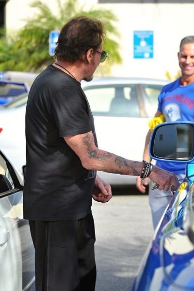 Johnny Hallyday Buys Rolls Royce Phantom Drophead Coupe