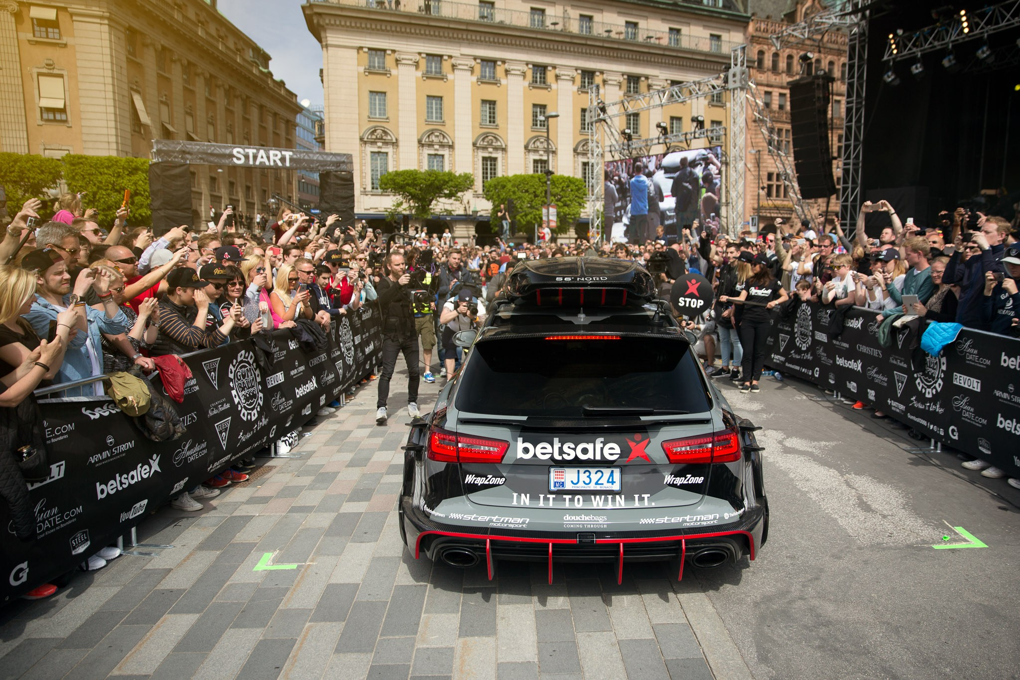 Jon Olsson To Sell His 1 000 Hp Gumball 3000 Rally Audi