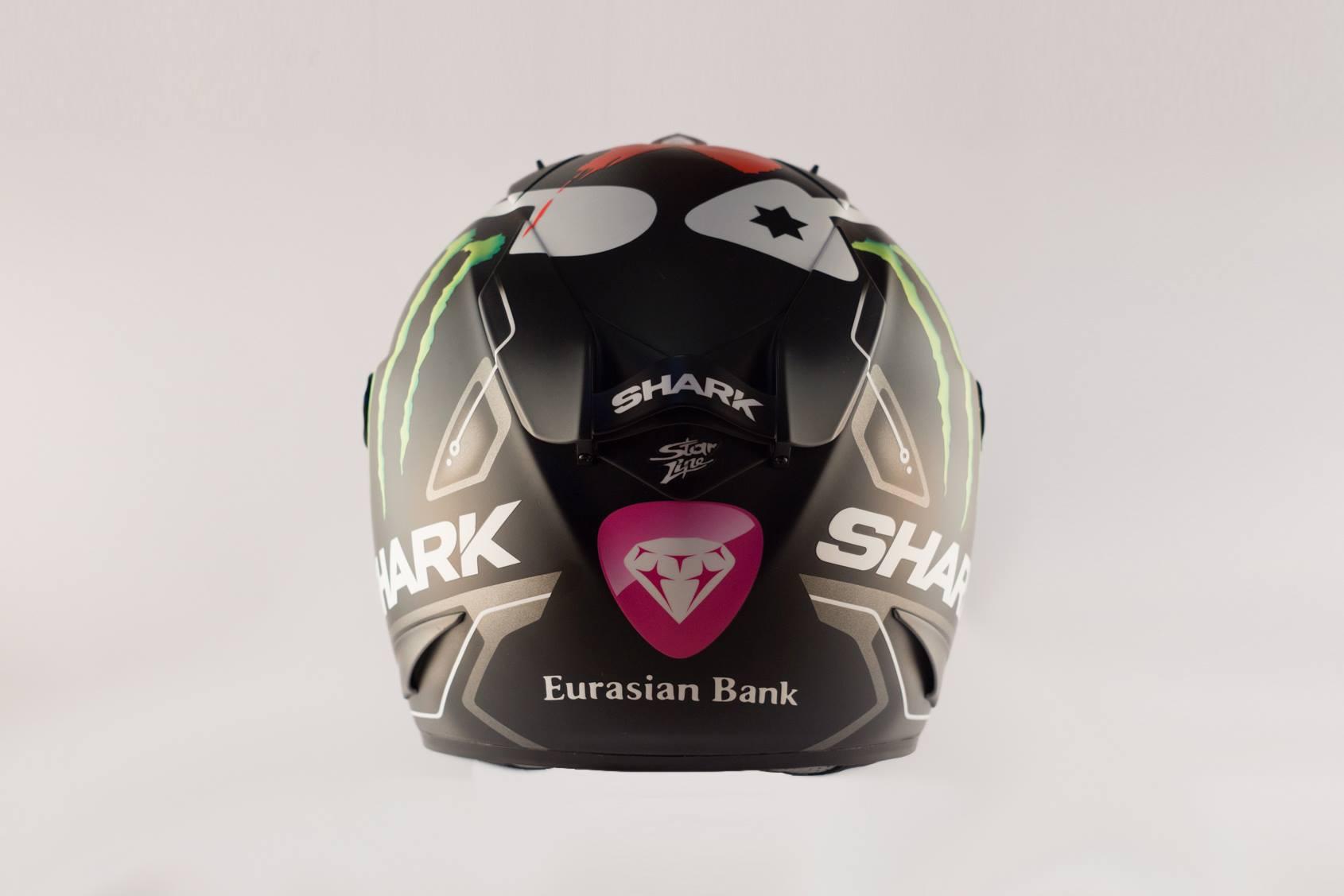 Jorge Lorenzo Shows His New Shark Helmet, Looks Rather Dull ...