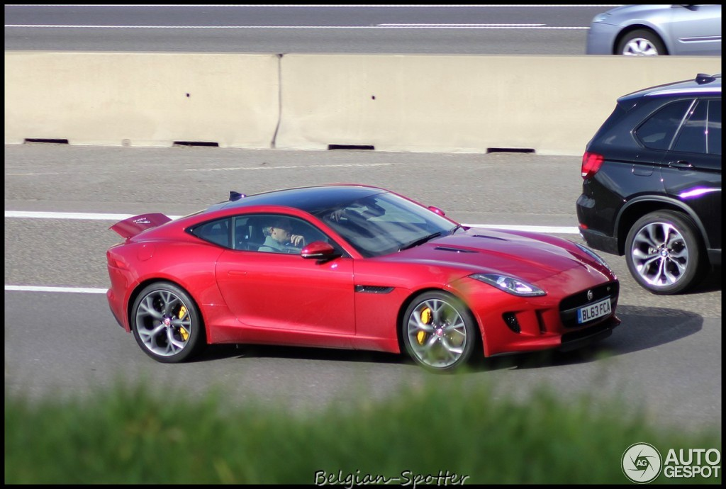 Jose Mourinho Spotted Driving His Jaguar F Type S Coupe