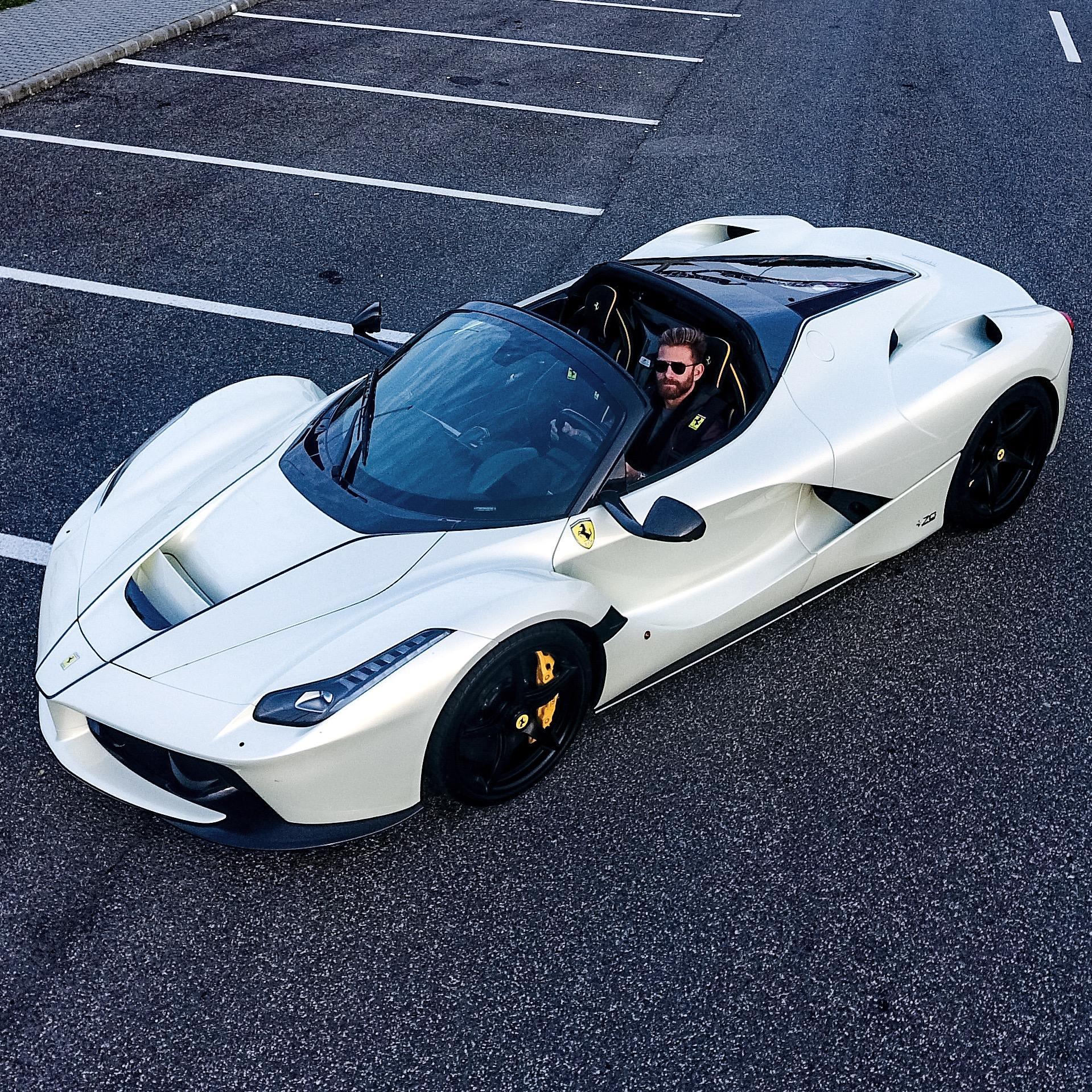 Newest Ferrari: Josh Cartu's LaFerrari Aperta Certainly Looks The Part