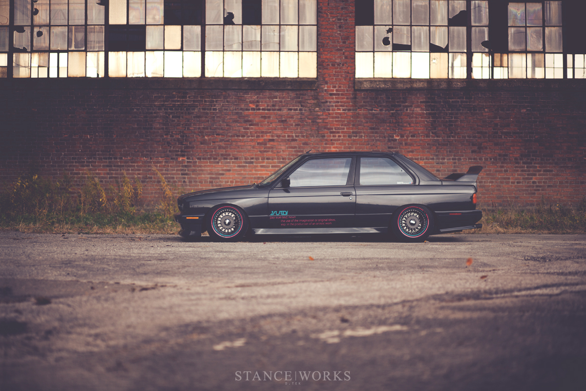 JSUTAI BMW E30 M3 Is One of a Kind - autoevolution