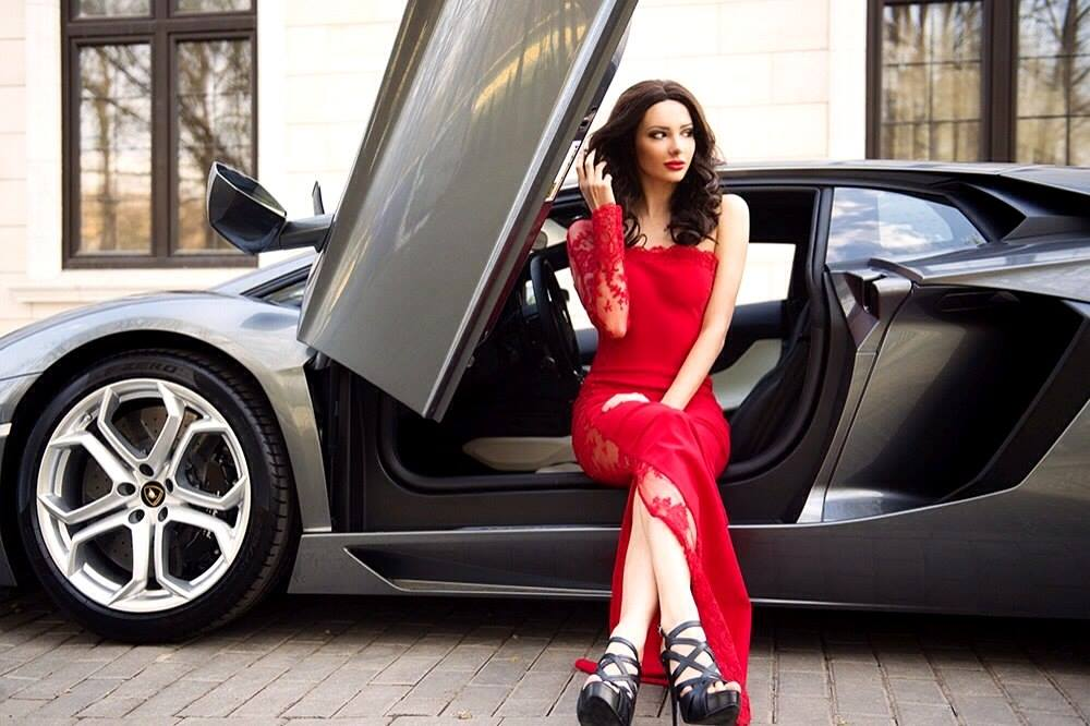 West Coast Corvette >> Julia Adasheva Is a Russian Brunette with a Ferrari 458 ...