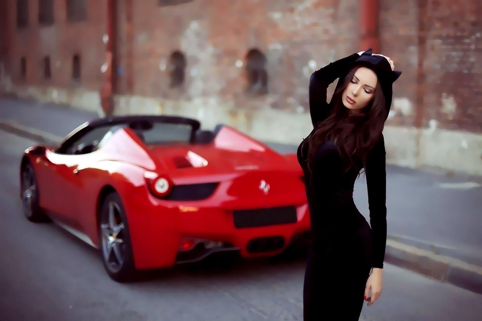 Top Tire Company >> Julia Adasheva Is a Russian Brunette with a Ferrari 458 Spider - autoevolution