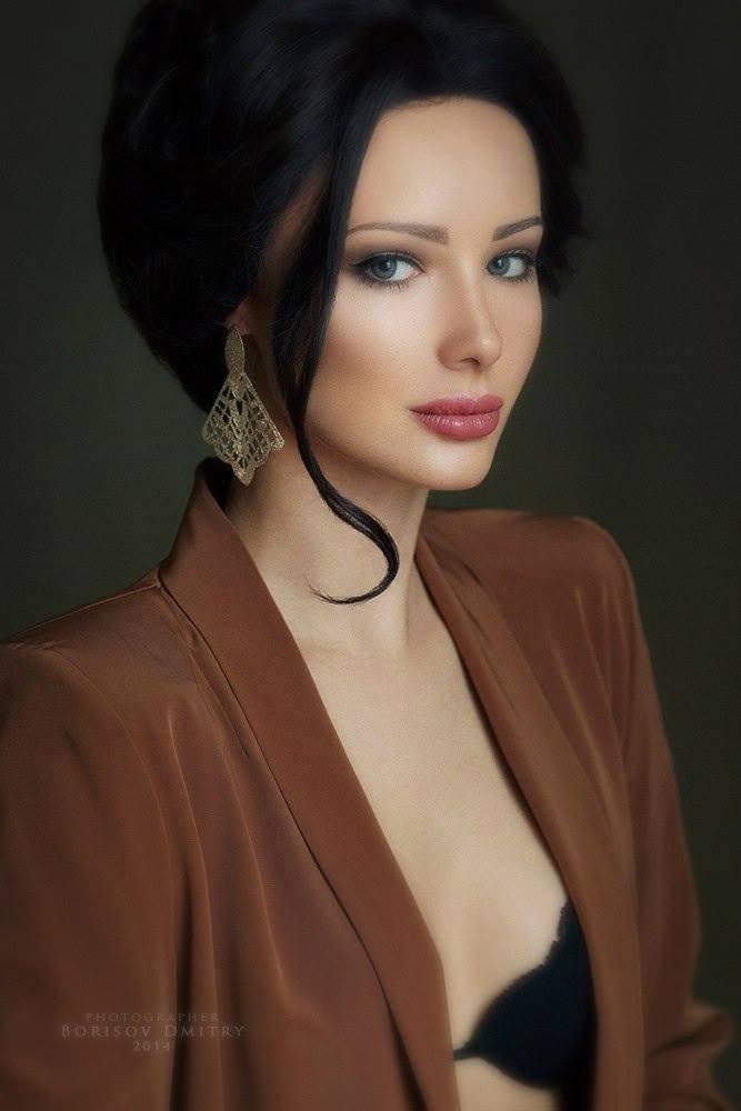 Julia Adasheva Is a Russian Brunette with a Ferrari 458 ...