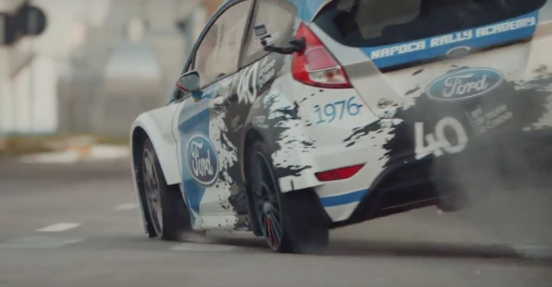 Junior WRC Champion Goes All Gymkhana In Romanian Ford Factory ...