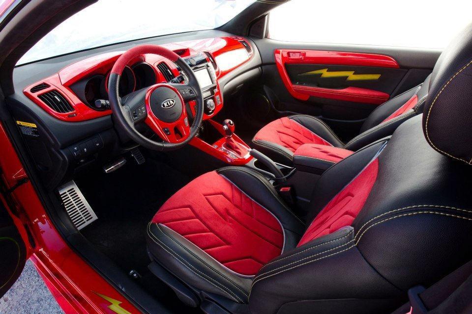 2012 Kia Forte Koup >> Justice League Kias at 2012 SEMA: Superhero Cars ...