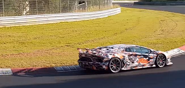 ... Lamborghini Aventador SVJ Blitzes Nurburgring