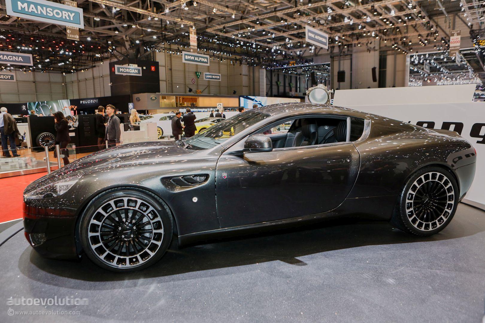 Kahn S Coach Built Db9 Vengeance Has Aston Martin S