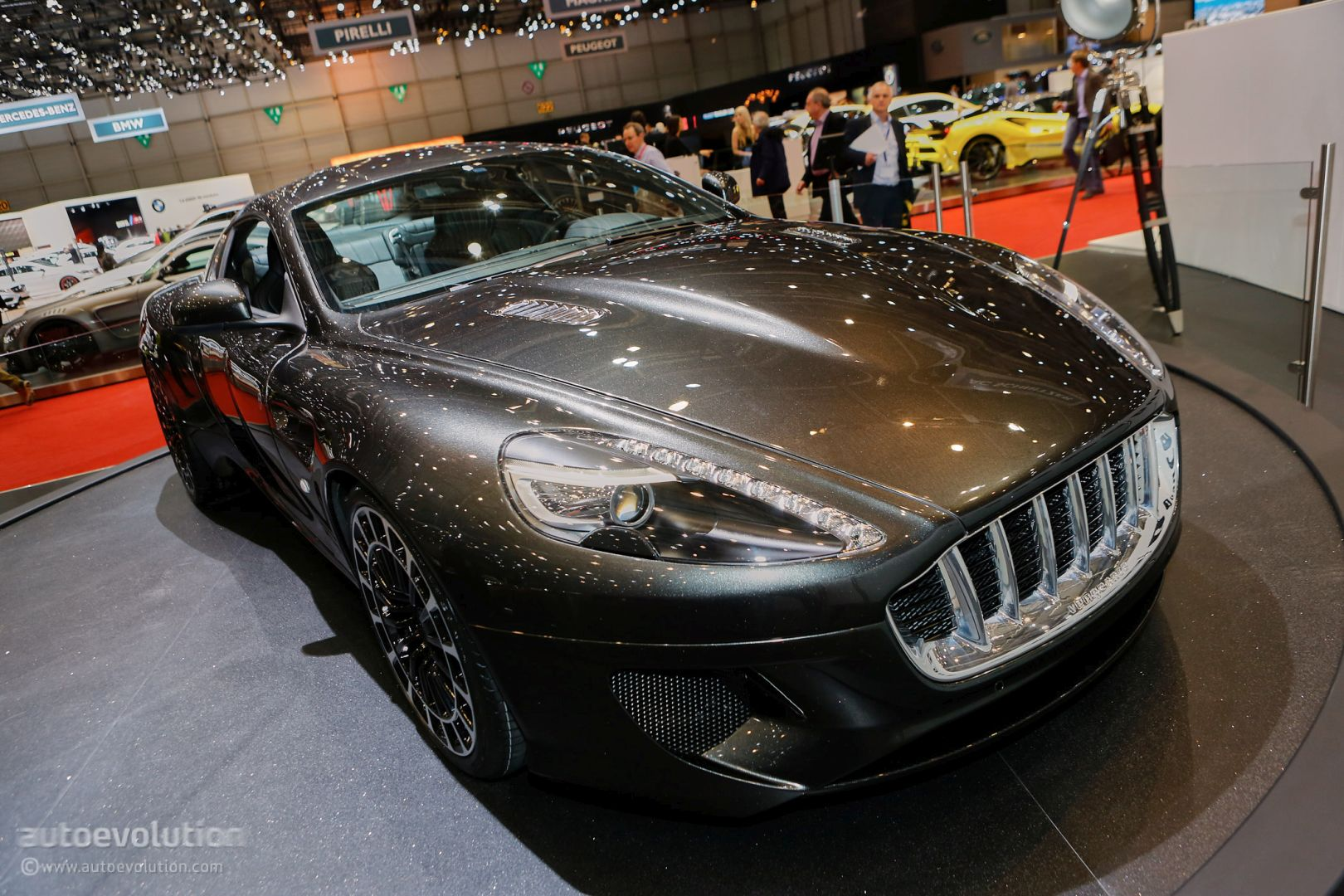 Awesome Kahn39s CoachBuilt DB9 Vengeance Has Aston Martin39s