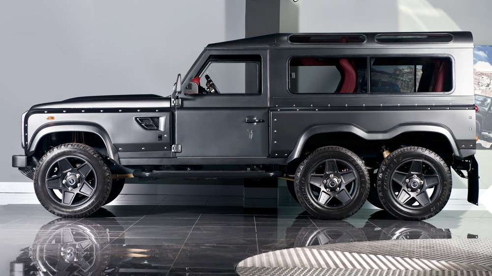 kahn design flying huntsman is a g63 amg 6x6 you can buy for 200 000 autoevolution. Black Bedroom Furniture Sets. Home Design Ideas