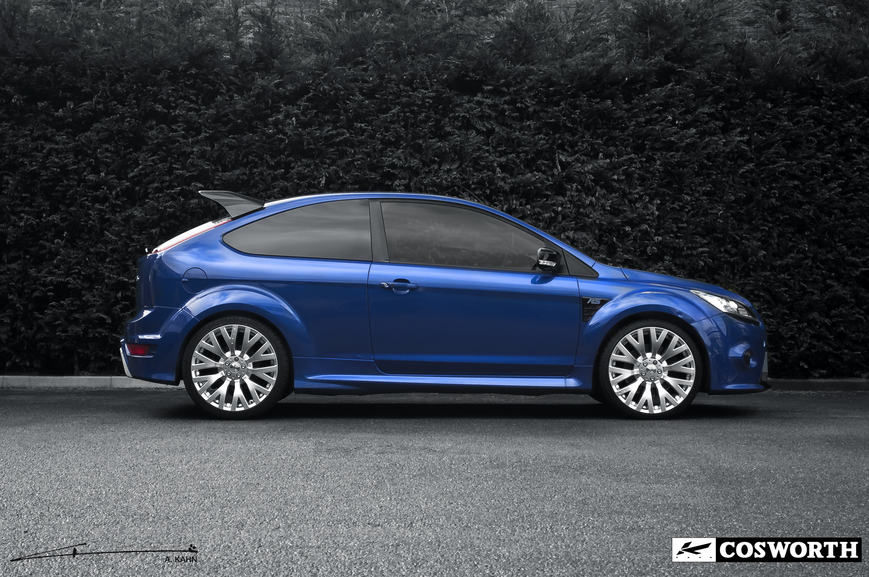 Focus St Exhaust >> Kahn Ford Focus RS Rides on Cosworth Wheels - autoevolution