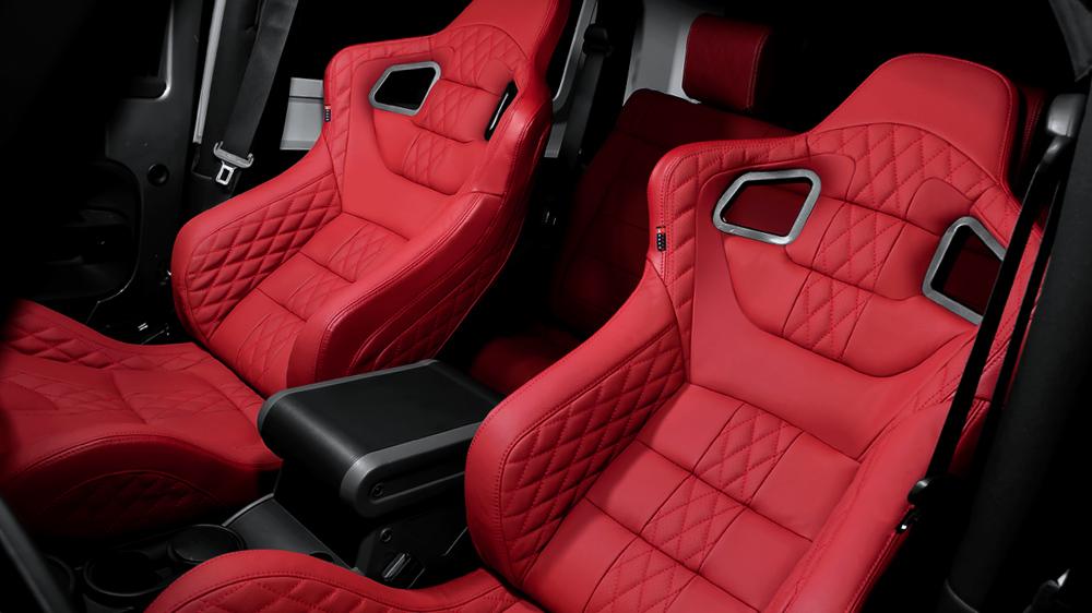 Kahn Presents Jeep Wrangler Seats Autoevolution