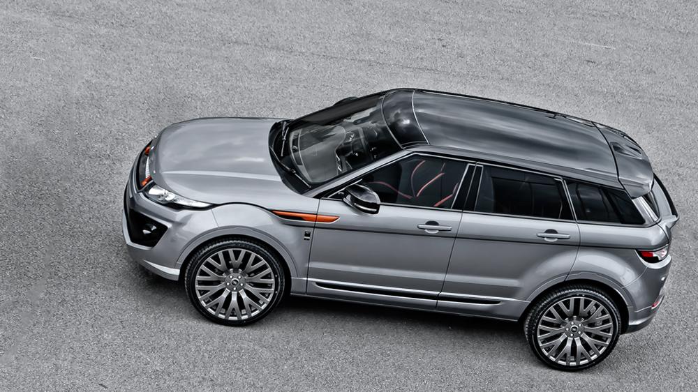 Kahn Range Rover Evoque Orkney Grey Rs250 Autoevolution