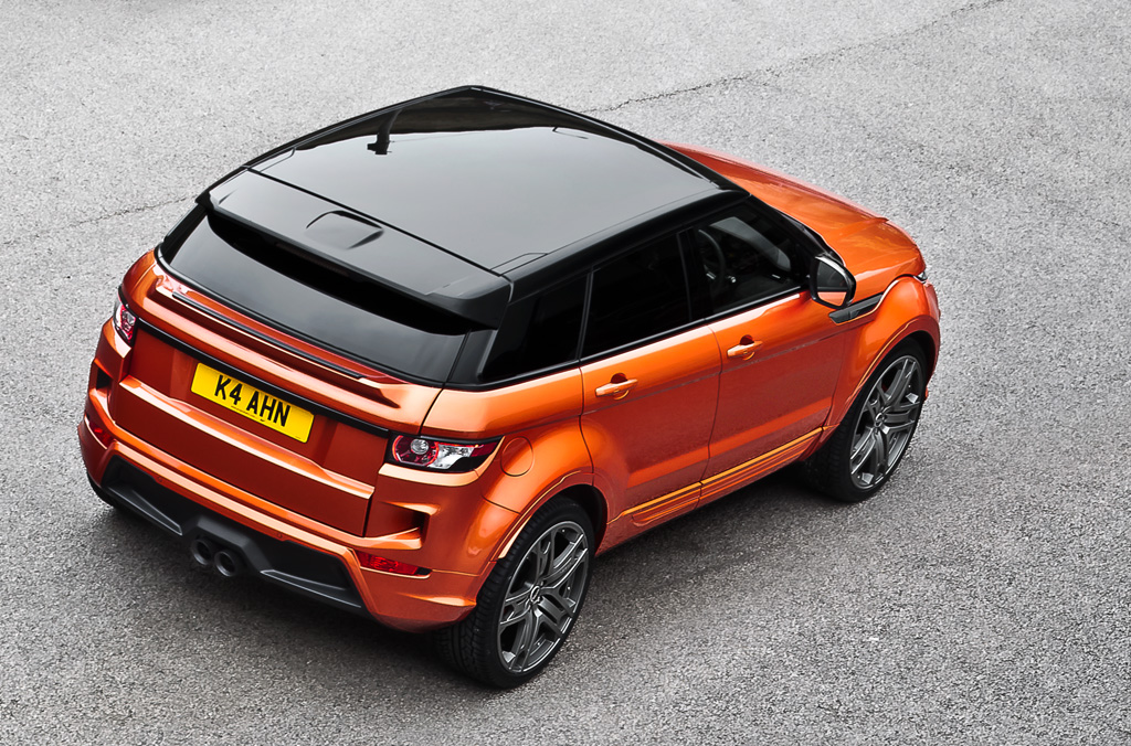Kahn Range Rover Evoque Rs250 Vesuvius Copper Autoevolution