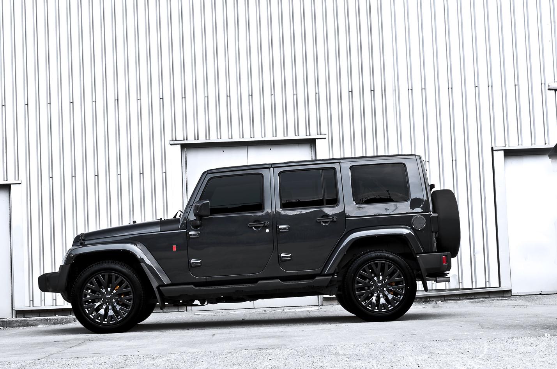 Kahn Restores And Tunes Jeep Wrangler Autoevolution