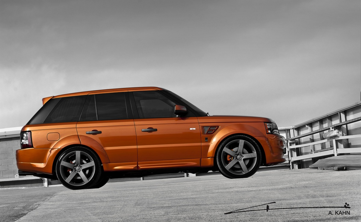 kahn unveils new 2012 range rover sport vesuvius. Black Bedroom Furniture Sets. Home Design Ideas