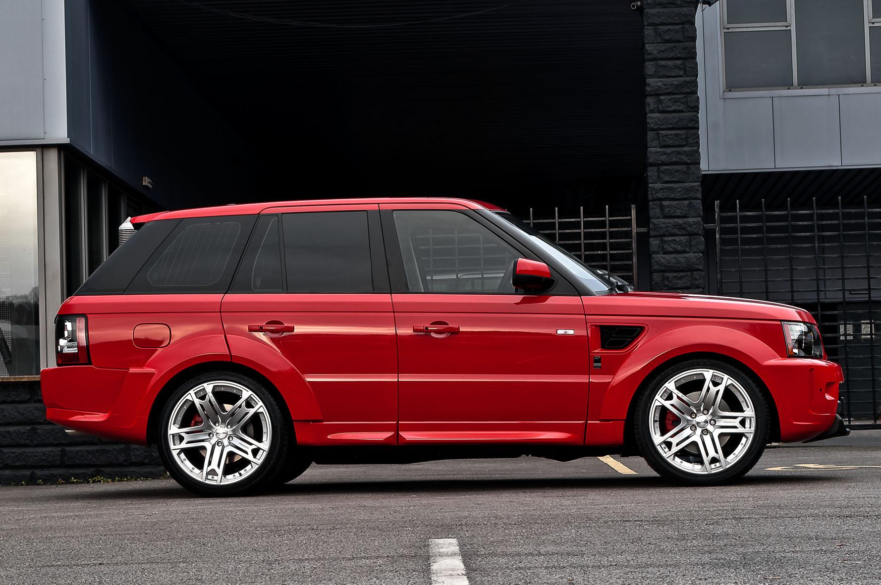 Kahn Unveils Range Rover Sport Mille Miglia Edition Autoevolution