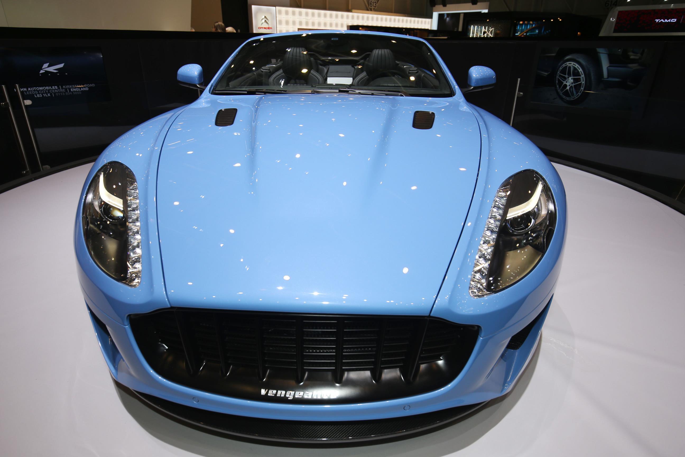 Aston Martin Db5 Becomes Supermarine Spitfire That Drifts Like A Sir