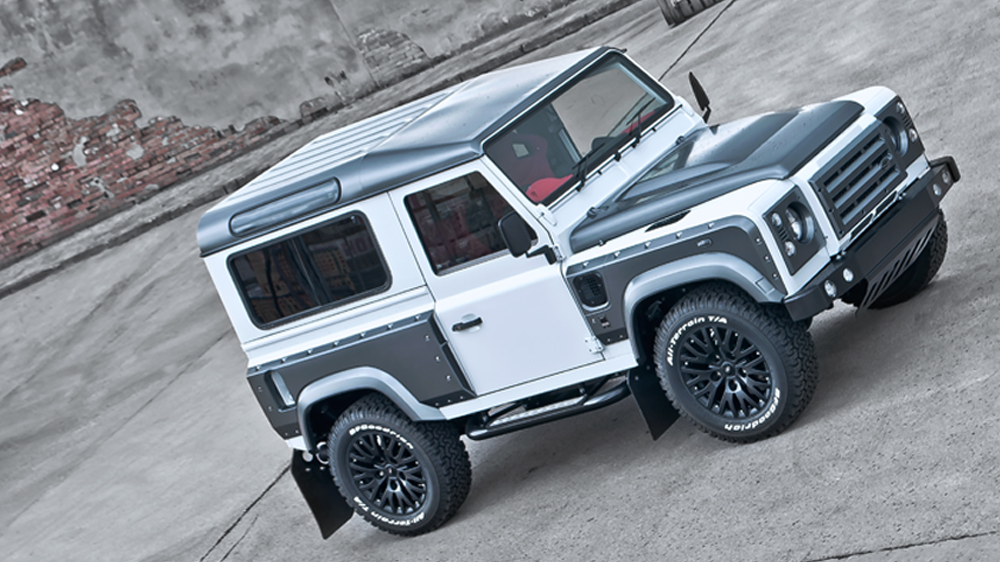Defender 90 Wide Body Kit >> Kahn XS 90 Land Rover Defender: Offroading in Style - autoevolution