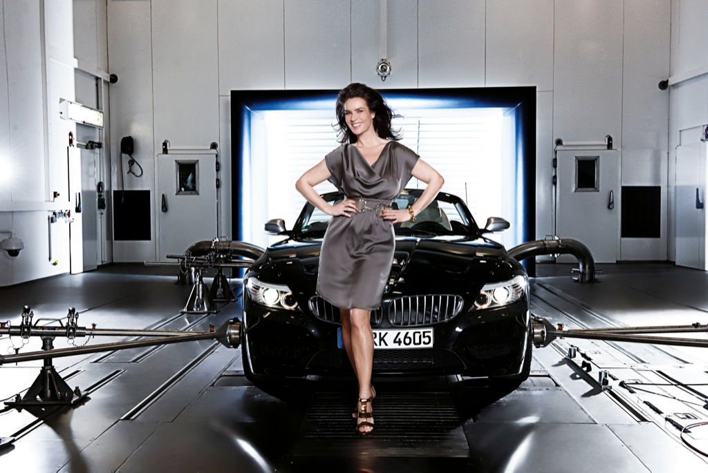 witt in the bmw climatic wind tunnel