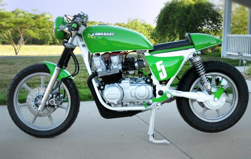 Kawasaki KZ750 By Jeff Snowden