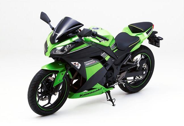 Kawasaki Ninja 300 Receives Custom Corbin Seats Autoevolution