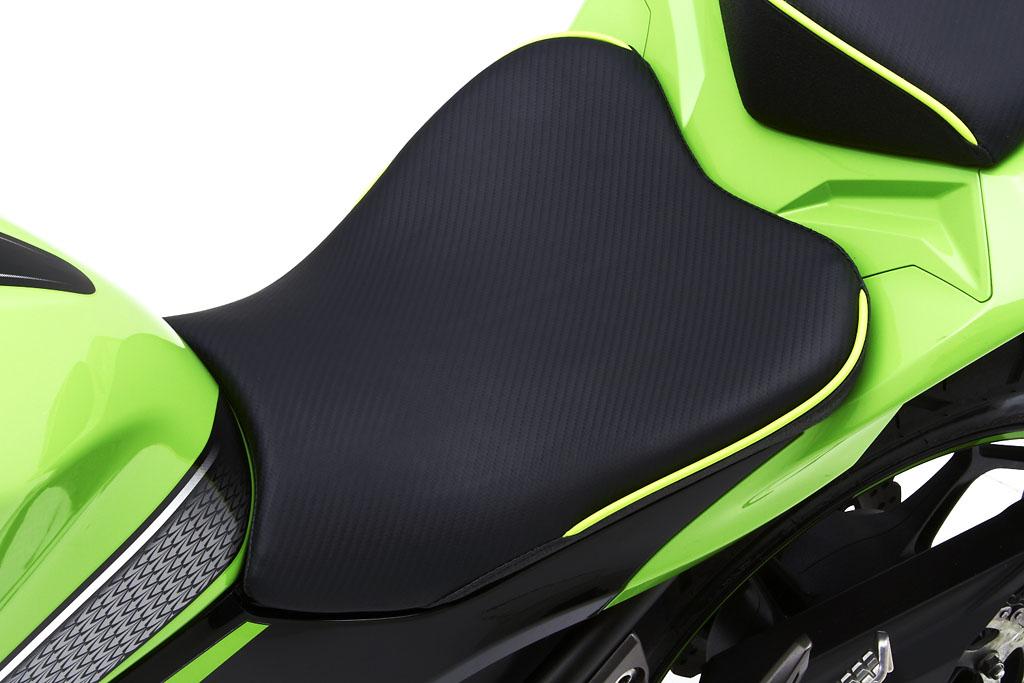Kawasaki Ninja 300 Receives Custom Corbin Seats - autoevolution