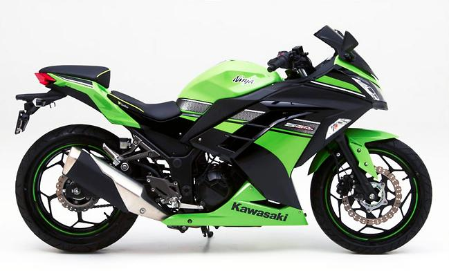 Kawasaki Ninja 300 Receives Custom Corbin Seats