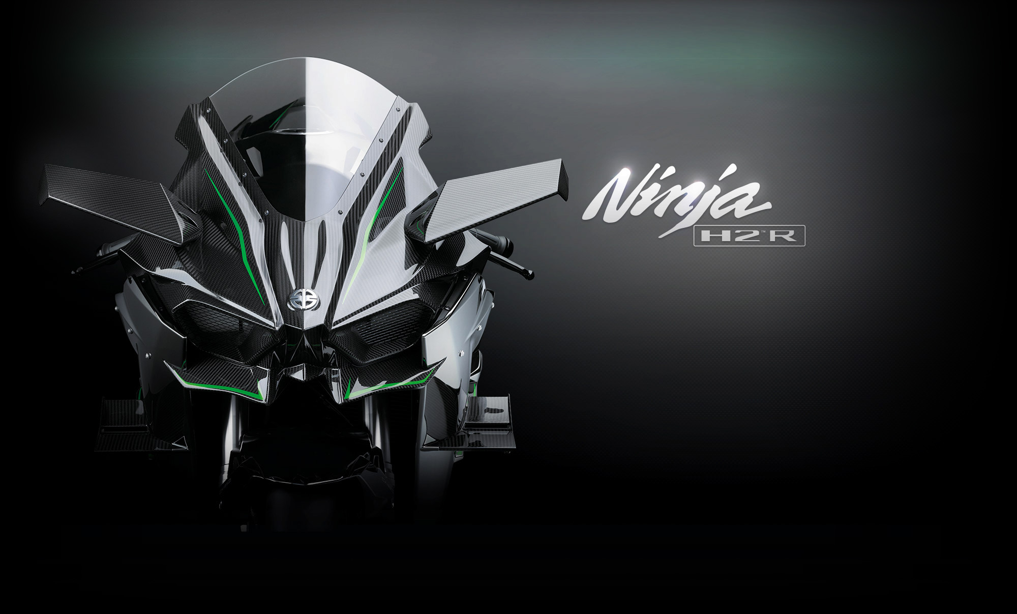 Kawasaki Ninja H2R Front End Looks Exceedingly Evil