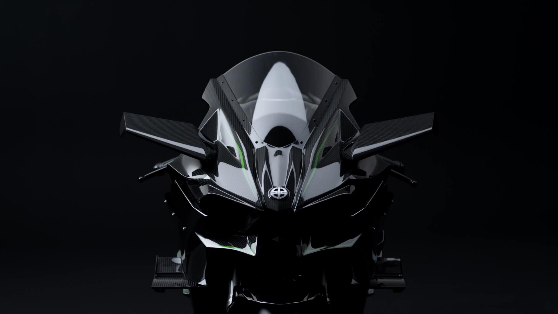 Kawasaki Ninja H2r Pics And Video Show A Game Changer