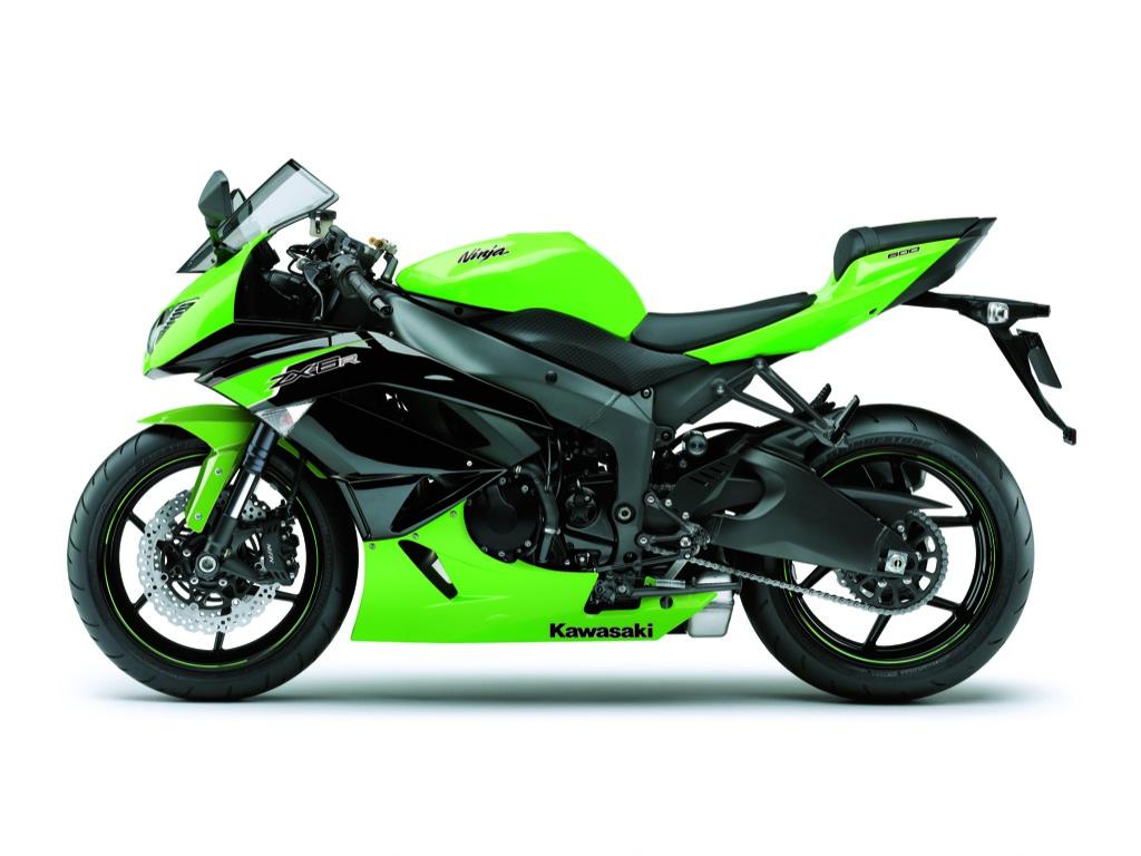 Kawasaki Ninja ZX-6R Gets New Colors for 2012 - autoevolution