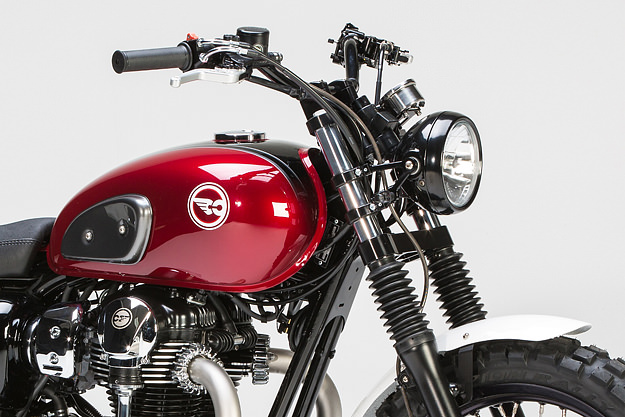 Kawasaki W 800 Custom Bike by LSL - autoevolution