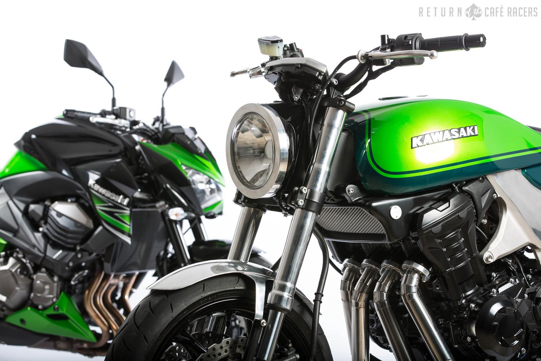 Kawasaki Z1000 40th Anniversary Concept Is Smoking Hot