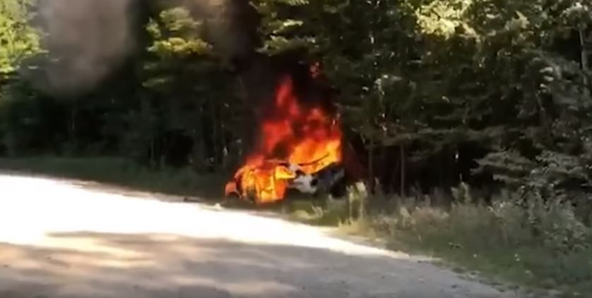 Ken Block Has Extreme Rally Crash, His Ford Escort RS