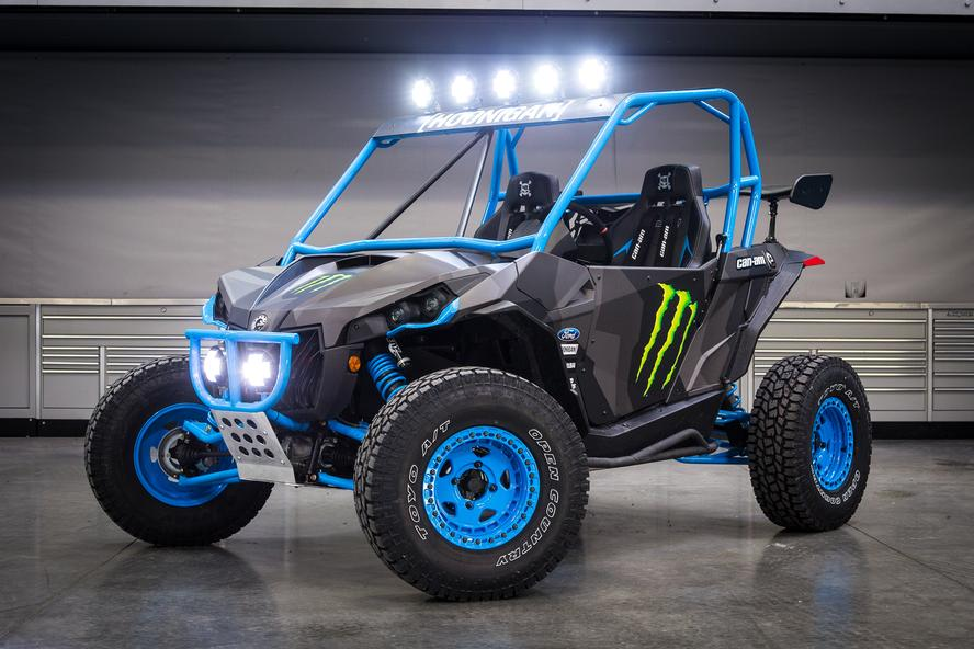 Ken Block Unveils His Custom Can Am Mavericks Autoevolution