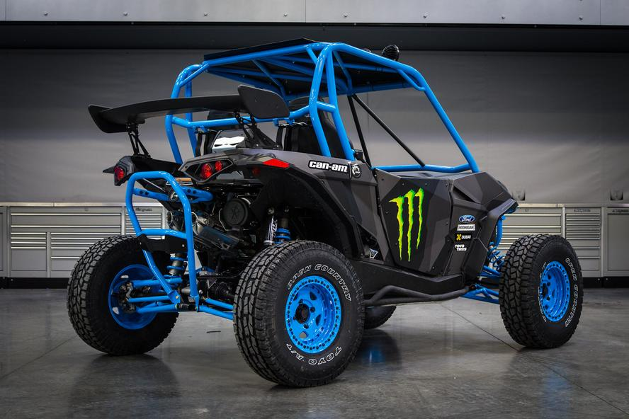 Ken Block Unveils His Custom Can Am Mavericks Autoevolution