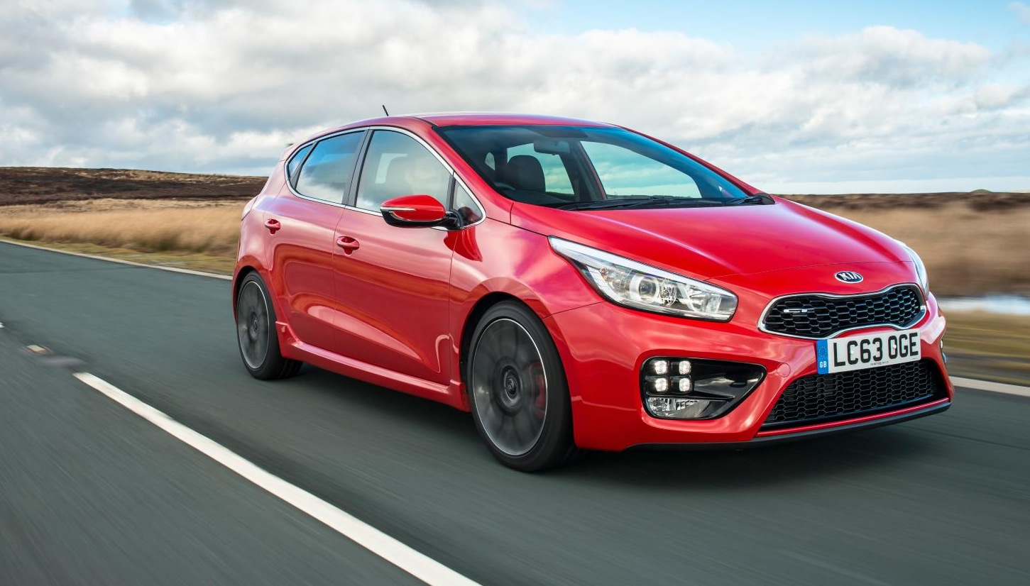 kia cee 39 d gt five door hot hatch goes on sale in britain. Black Bedroom Furniture Sets. Home Design Ideas