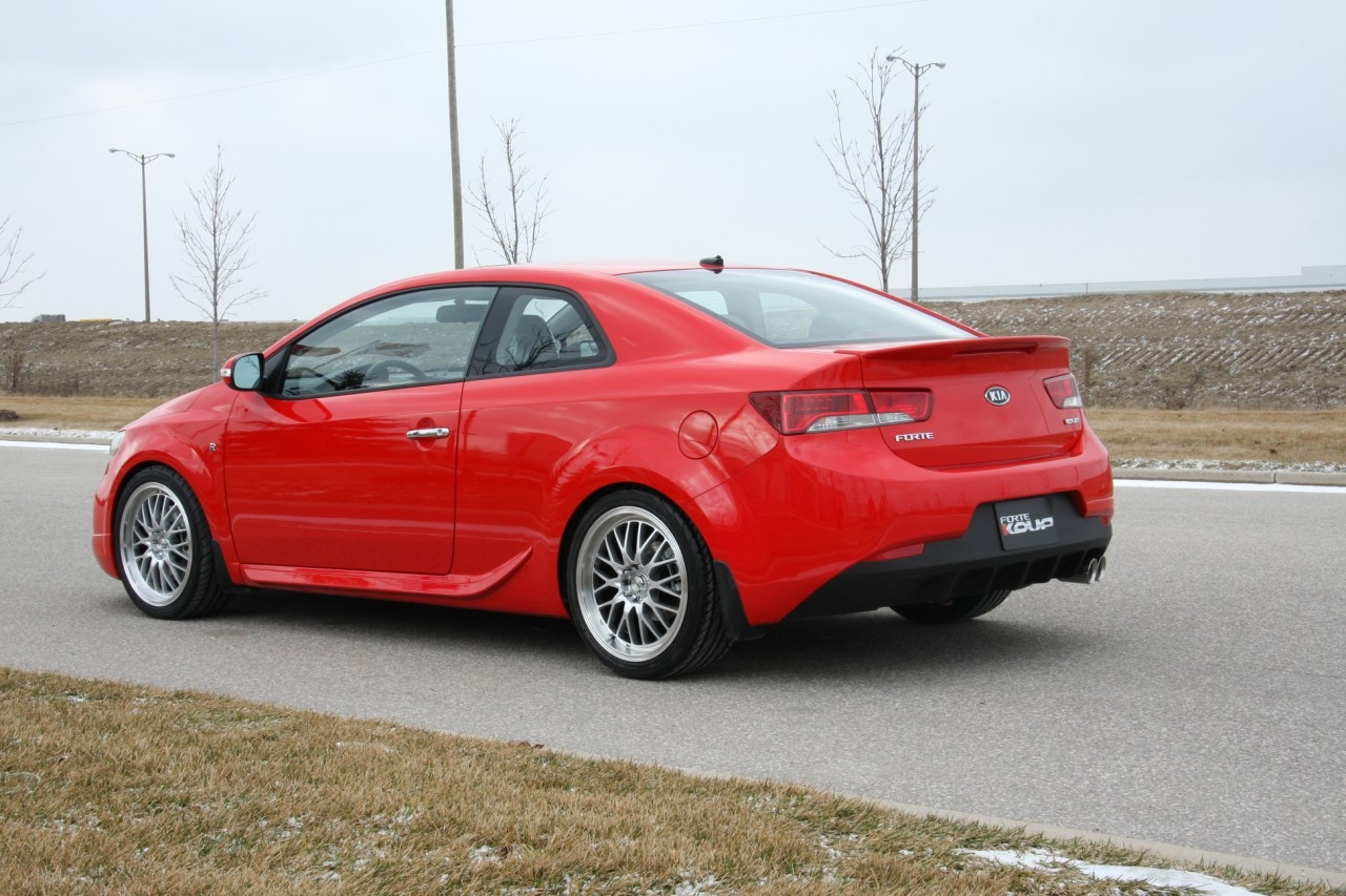Kia Forte Koup Gets R Package In Canada Autoevolution