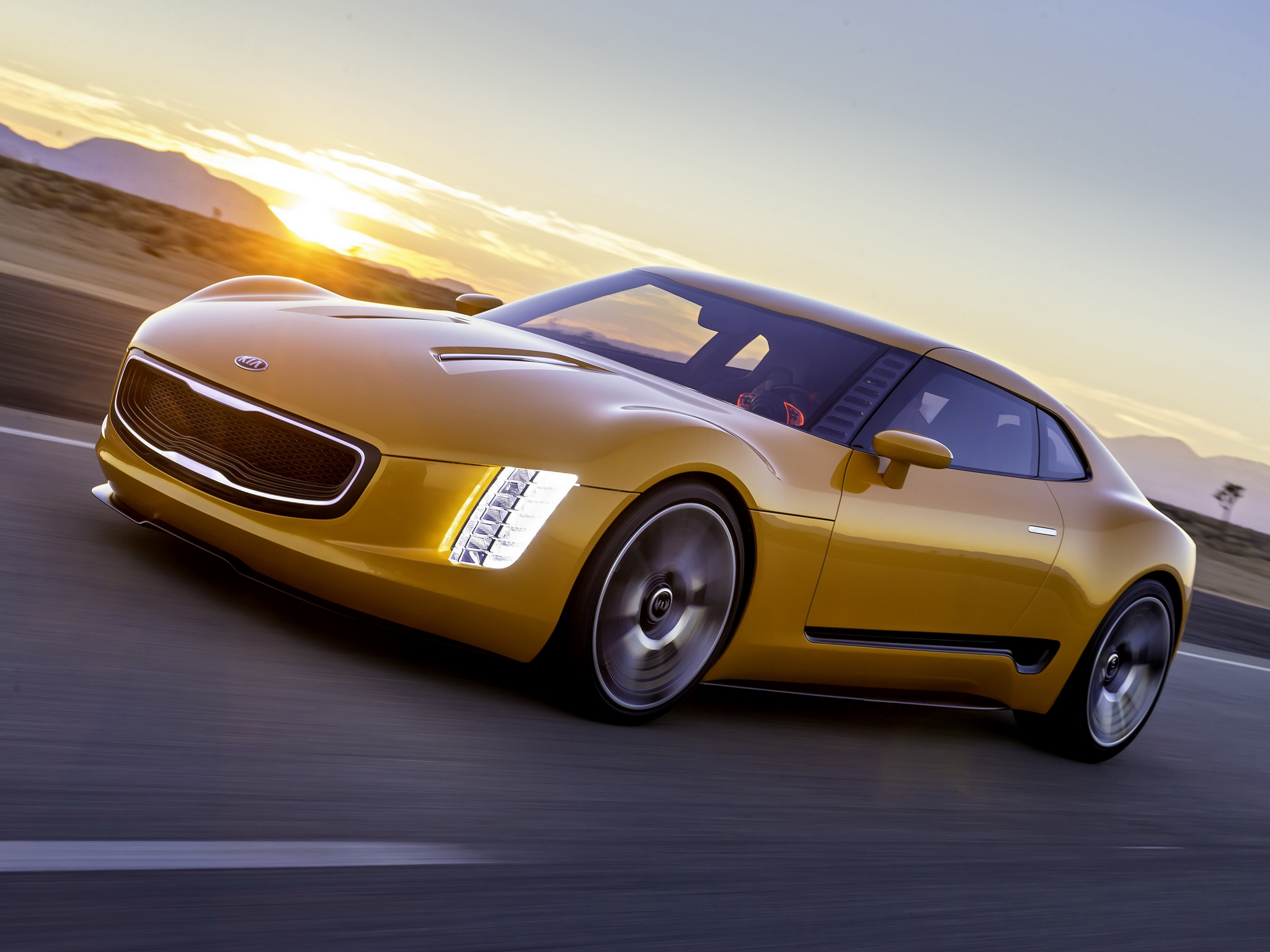kia gt4 stinger concept photos leaked autoevolution. Black Bedroom Furniture Sets. Home Design Ideas