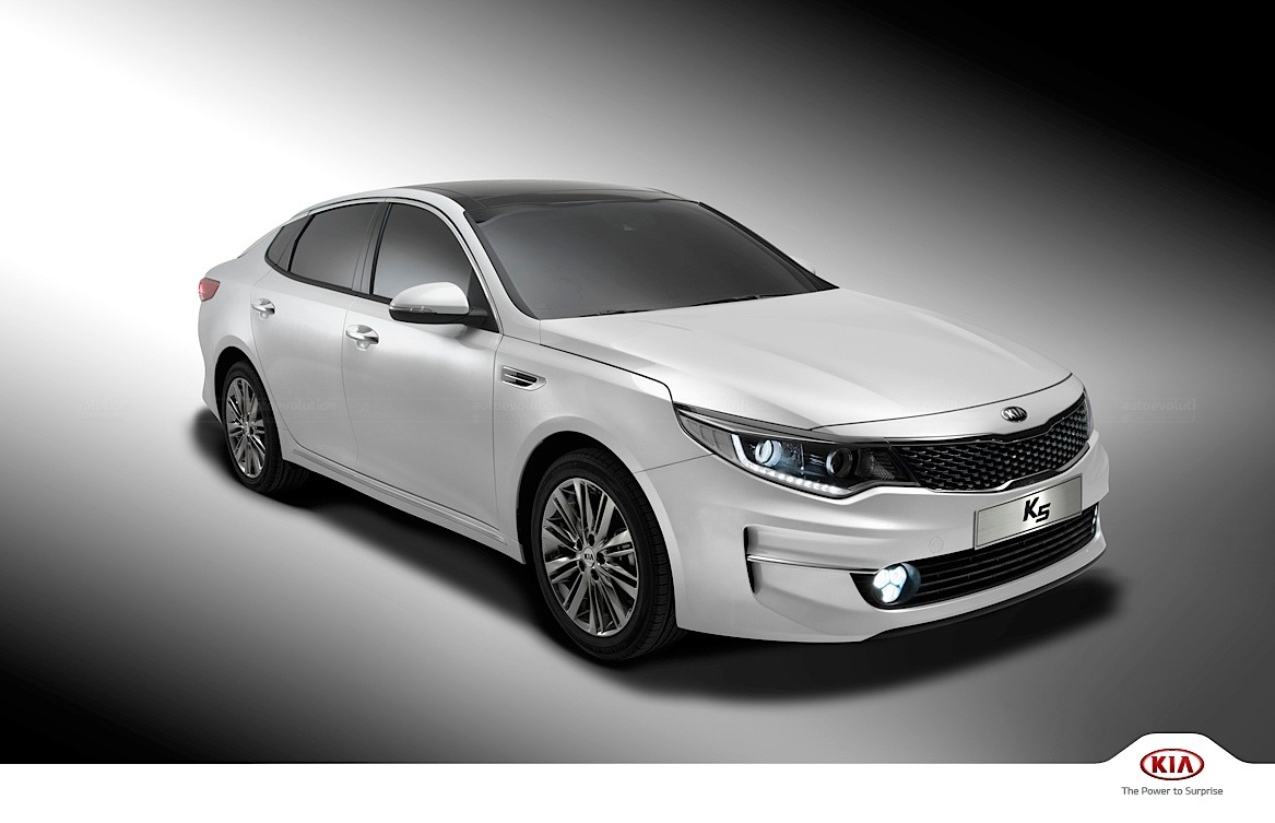 Kia K5 Sedan Optima Launched With 5 Engines And Two Design Lines In Korea Autoevolution