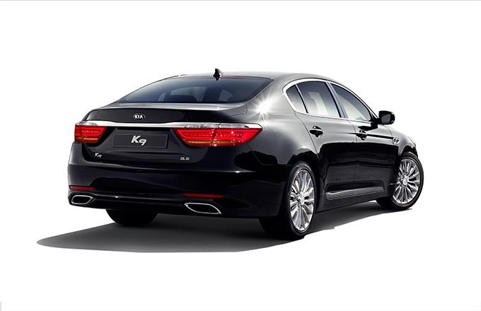 Kia k9 flagship sedan gets 5 liter gdi v8 in south korea video autoevolution