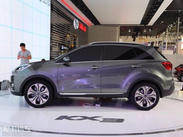 kia kx3 concept previews subcompact crossover autoevolution. Black Bedroom Furniture Sets. Home Design Ideas