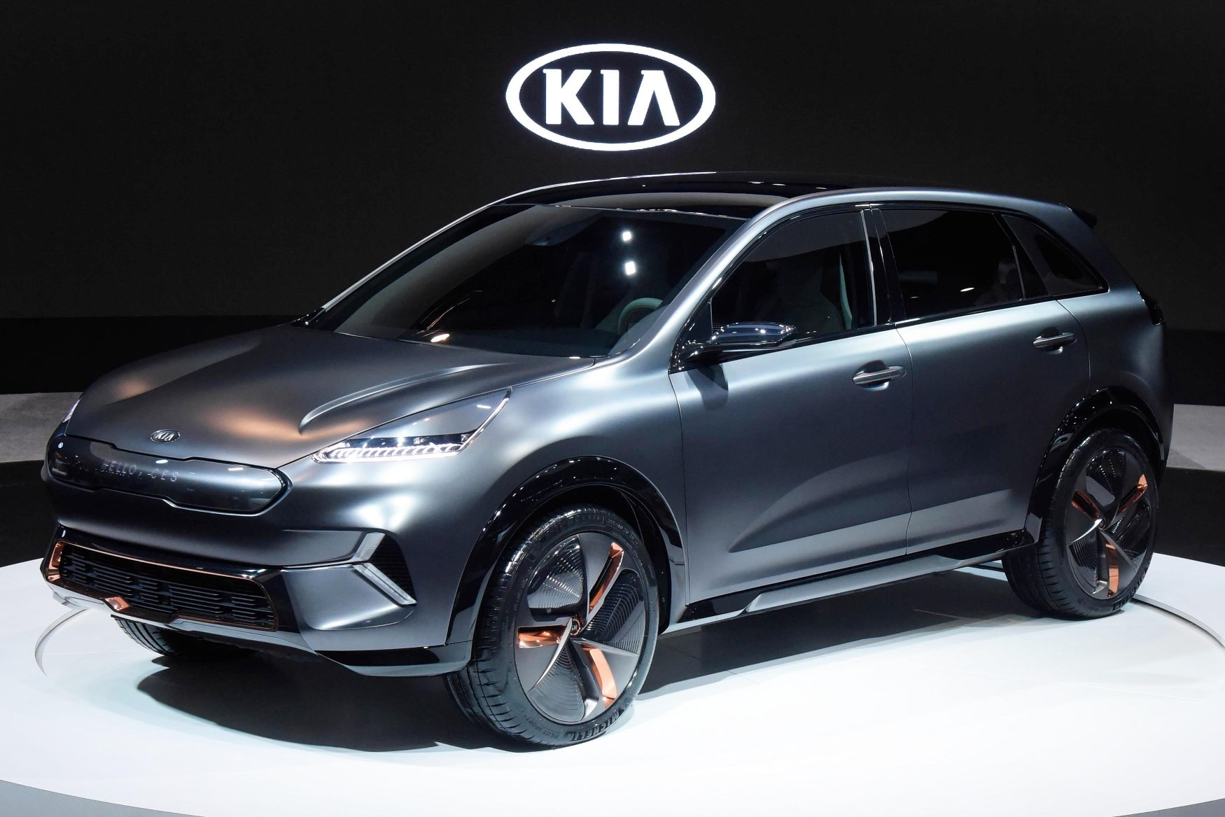 Kia Niro EV Concept Paves The Way For 16 Electrified Vehicles By ...