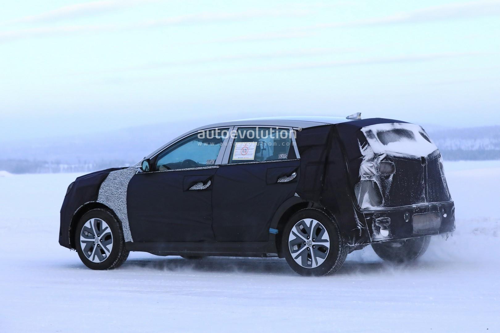 Spyshots: Kia Niro EV Testing in Scandinavia - autoevolution