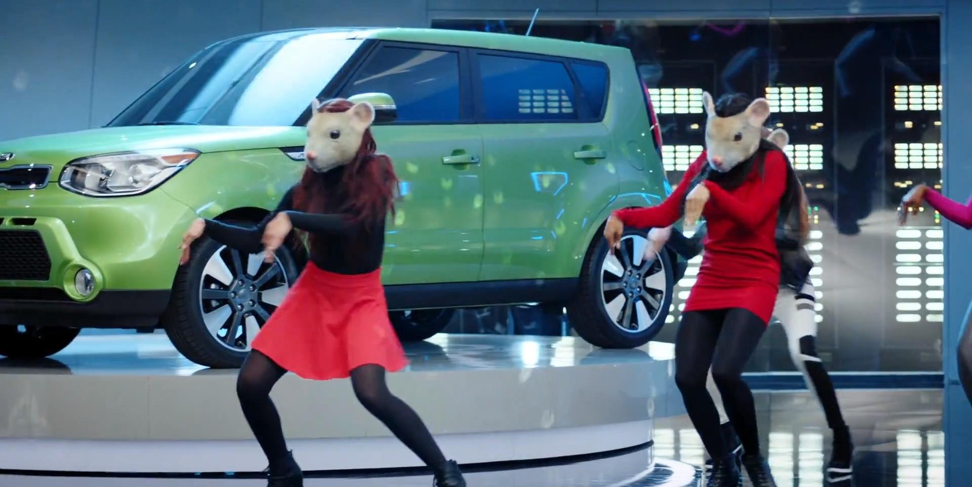 Kia Soul Commercial >> Kia Soul Ev Gets Its Furry Latex Freak On In Latest Hamster