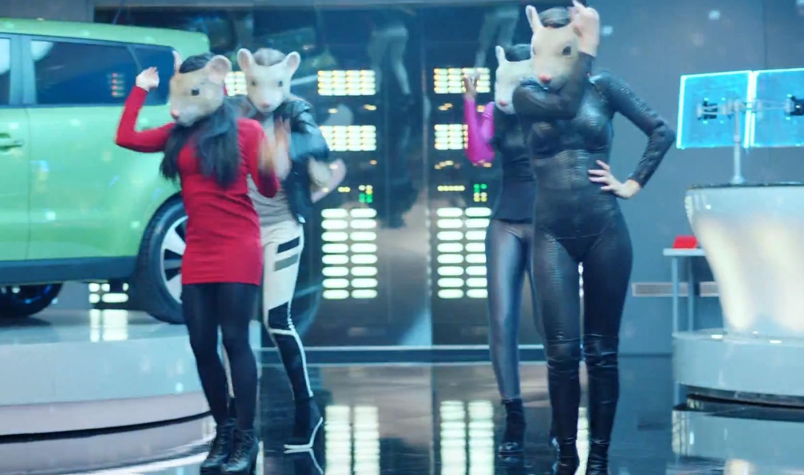 Kia Soul Commercial >> Kia Soul EV Gets its Furry Latex Freak on in Latest ...